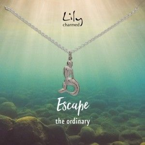 Lily Charmed Mermaid Necklace #mermaid #stockingfiller