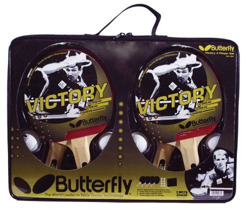 Butterfly Victory 4-Player Table Tennis Set
