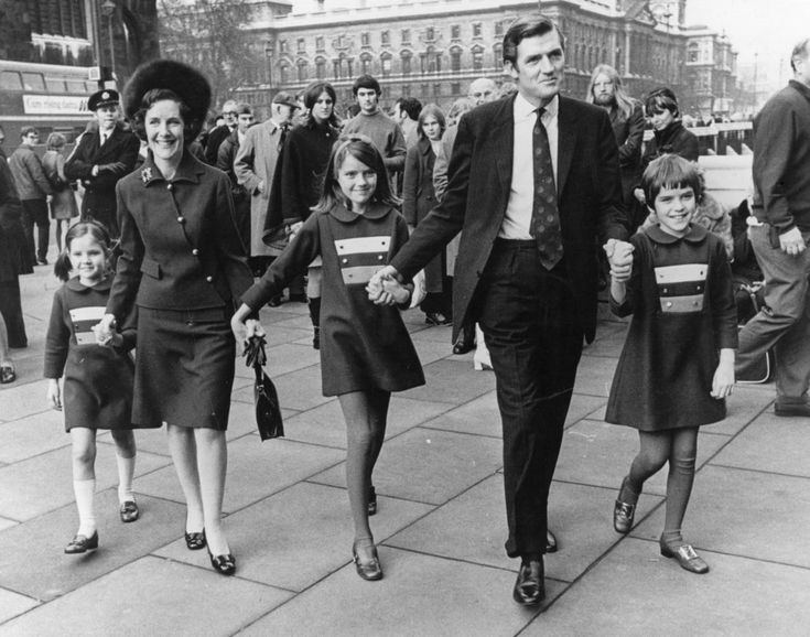 24th November 1970: Cecil Parkinson after his by-Election victory, arriving at…