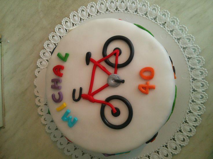 My bike cake
