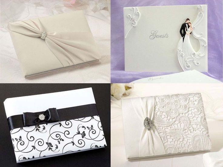 Vi har tilføjet 4 nye smukke designs #gæstebog i vores  #shoppen. Så kig ind i shoppen og vælge en perfekt gæstebog, der passer til dit #bryllup.