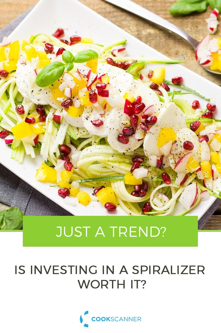 It appears that, rather than fading, Spiralizing is finding and adapting to new and broader audiences.