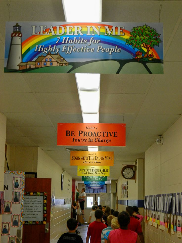 13 best images about 7 habits school decor on pinterest for 7 habits decorations