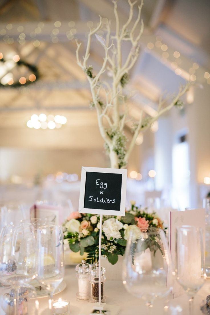 Food Table Names Black Board Chic Hollywood Glamour Wedding http://www.kategrayphotography.com/