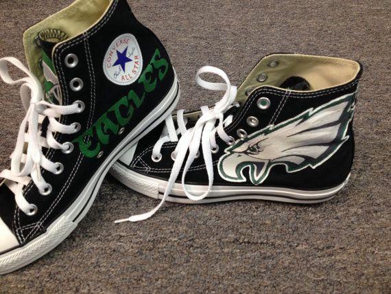 6fab116a573c Philadelphia Eagles Converse Sneakers