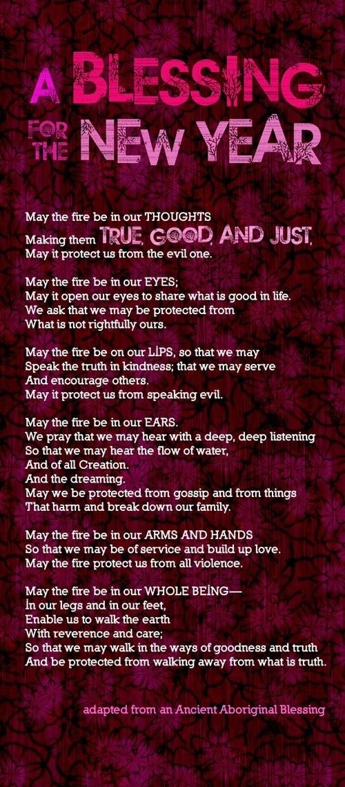 11 - Adapt and use a paragraph from this Aboriginal blessing on a ...
