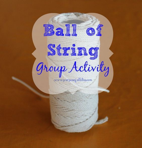 Sometimes it is difficult to figure out activities for group therapy. Check out this simple ball of string group activity to use with all types of groups