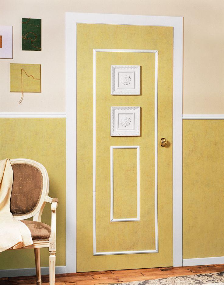 Twoje drzwi nie pasują do nowego wnętrza wzorowanego na styl retro? W naszym kursie pokażemy jak ozdobić drzwi piękną sztukaterią tak, aby pasowały do tradycyjnego wystroju pomieszczenia.