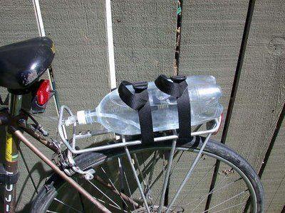 DIY hydration system for biking