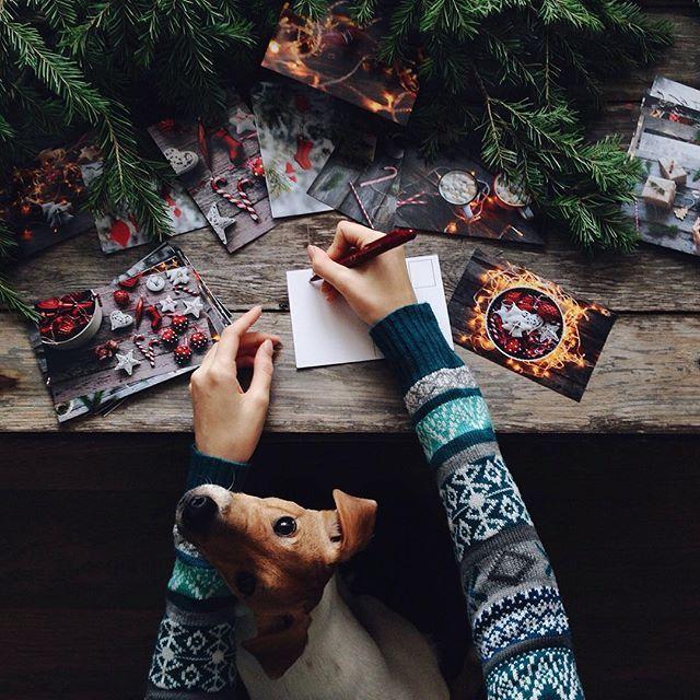 Writing Christmas Cards Together | Susan Wheeler