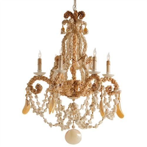 102 best seashell chandelier images on pinterest seashell arteriors home 89306 6 light strasbourg shell chandelier at atg stores aloadofball Choice Image