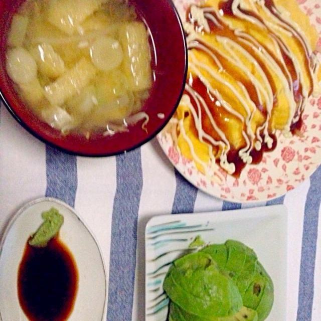 お味噌 アボカド 豚平焼き - 5件のもぐもぐ - ある日の夕飯 by HungryTomoyo
