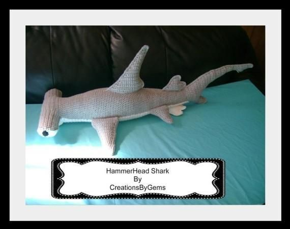 Hammerhead Shark PDF Crochet Pattern UX/UI Designer, The ...