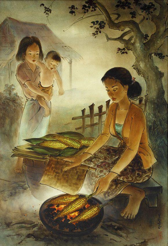 Cheng Shui - Penjual Jagung Bakar