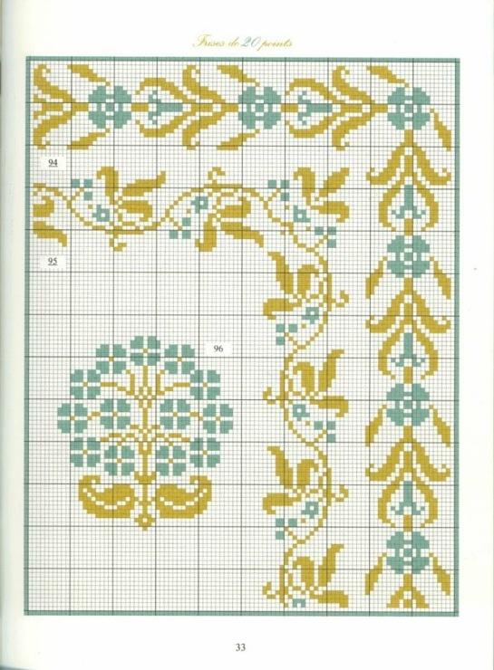 Borders in cross stitch 20