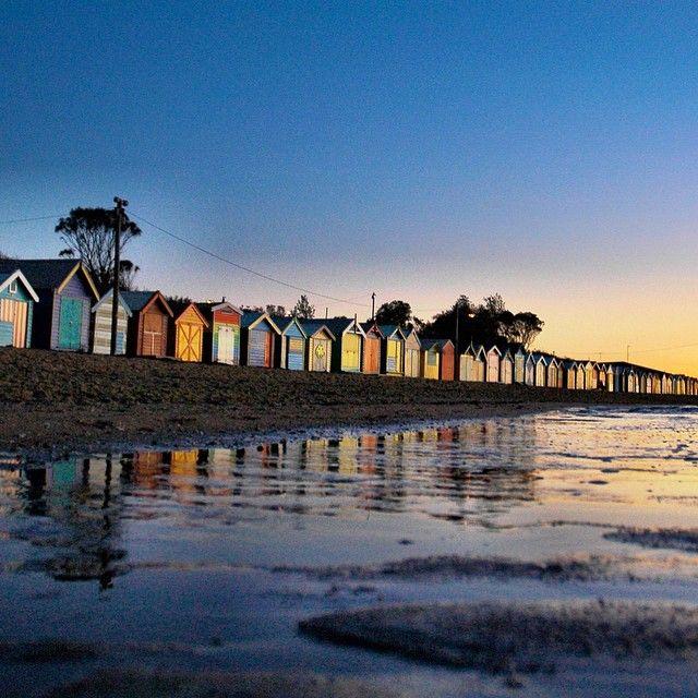 """""""Brighton beach take 2  #kalaidoscopicvision // #visitmelbourne @visitmelbourne #seeaustralia @australia @melbourneiloveyou"""" Photo taken by @coopsinmelbourne on Instagram, pinned via the InstaPin iOS App! http://www.instapinapp.com (07/15/2015)"""