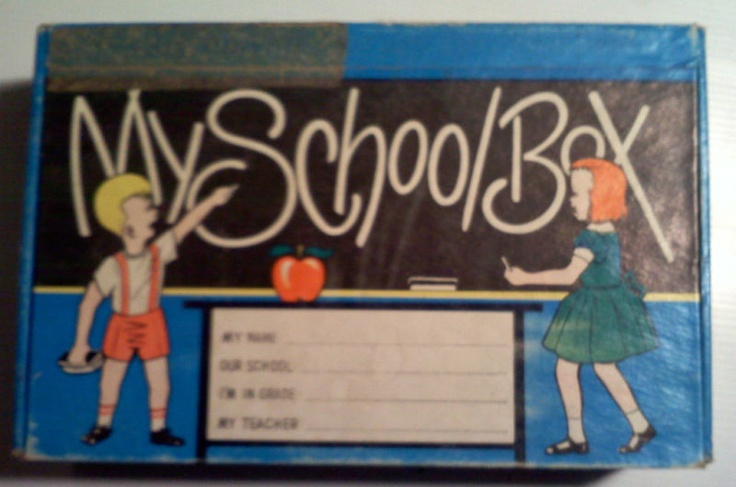 We used to have to get a new one at the start of every school year.  I loved school supplies shopping!