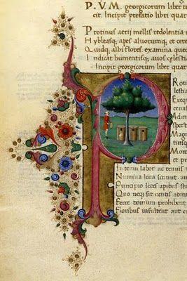 Medieval illuminated manuscript