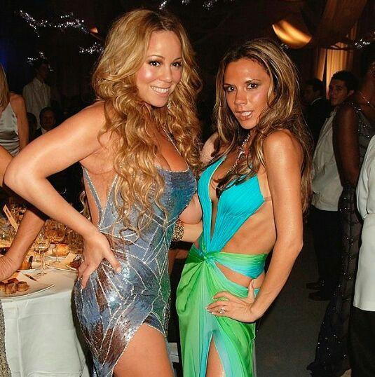 Mariah Carey & Victoria Beckham
