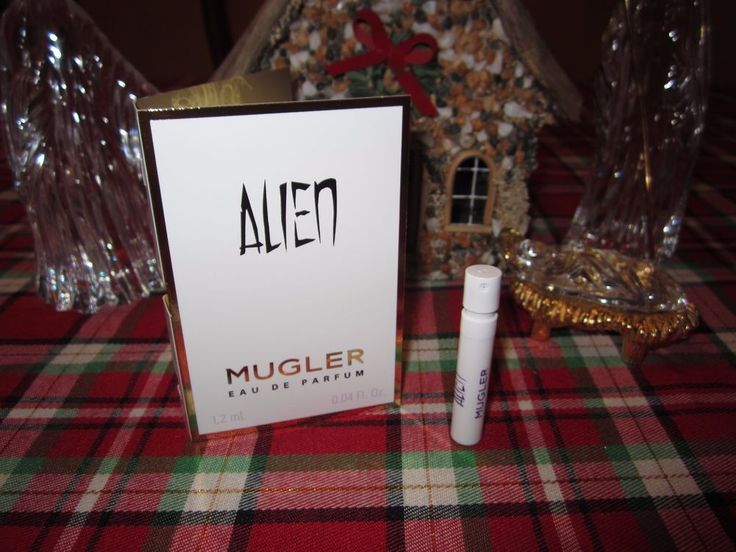 ALIEN MUGLER EDP Women's Perfume Fragrance Mini Spray Travel Vial Sample NEW #Mugler