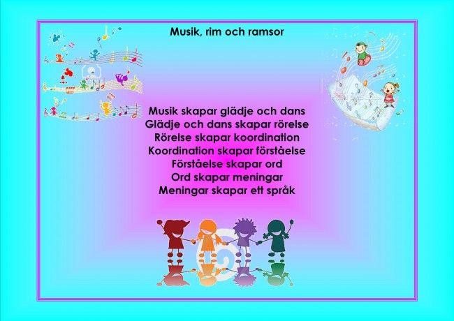 Mariaslekrum - Förskolans ordspråk.