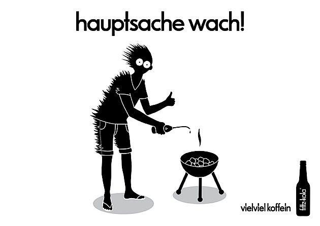 Hauptsache wach! – Print-Werbung für Fritz-Kola | KlonBlog