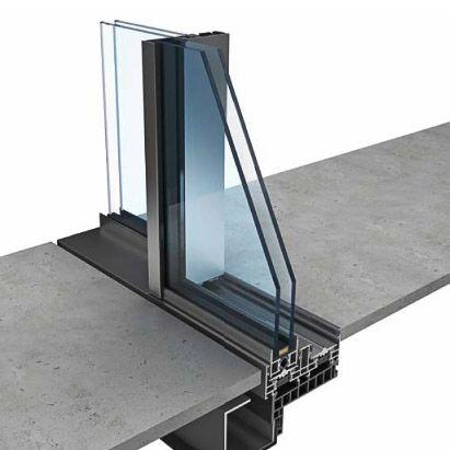 les 11 meilleures images du tableau baie seuil encastr sur pinterest baies vitr es projet. Black Bedroom Furniture Sets. Home Design Ideas