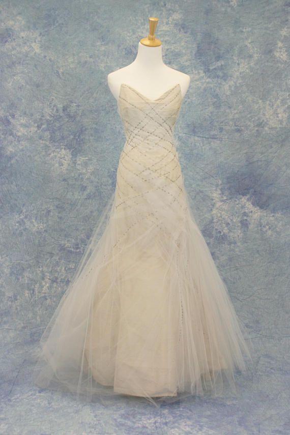Petite Vintage Style Tulle Wedding Dress SAMPLE SALE
