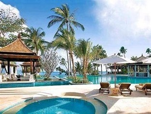 Melati Beach Resort & Spa and Spa is a luxury pool villas Thailand honeymoon resorts with an exquisite beachfront location at Thongson Bay on Koh Samui.