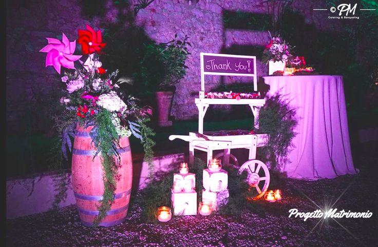 Candele #romantiche e #doni di ringraziamento per gli invitati: Progetto matrimonio è questo e molto di più! #wedding