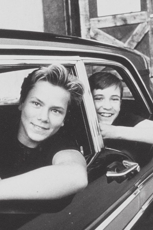 Stand By Me - River Phoenix and Wil Wheaton