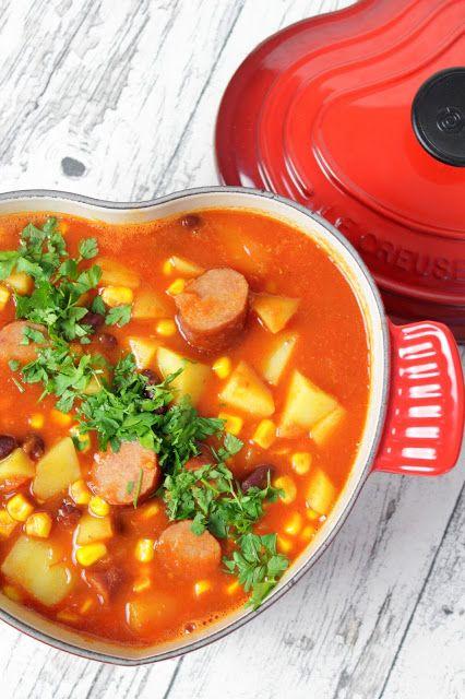 Rezepte mit Herz: Kartoffel - Kabanossi - Eintopf ♡