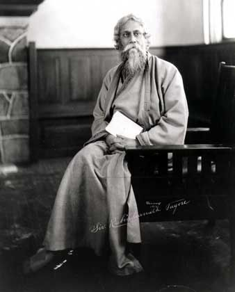 Various Rabindranath Tagore Photographs - Old Indian Photos