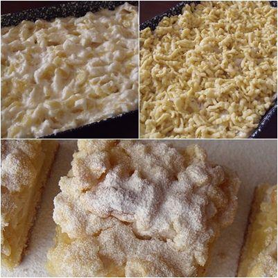 A klasszikus almás sütemény könnyített változata, ami alatt elsősorban a töltelék állagát értem.  Az almás süti rajongóinak csak ajánl...