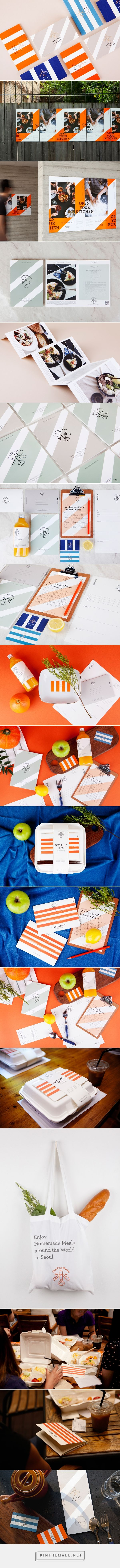 OneFineDinner Branding by Charry Jeon, ContentFormConte, KIWOONG HONG