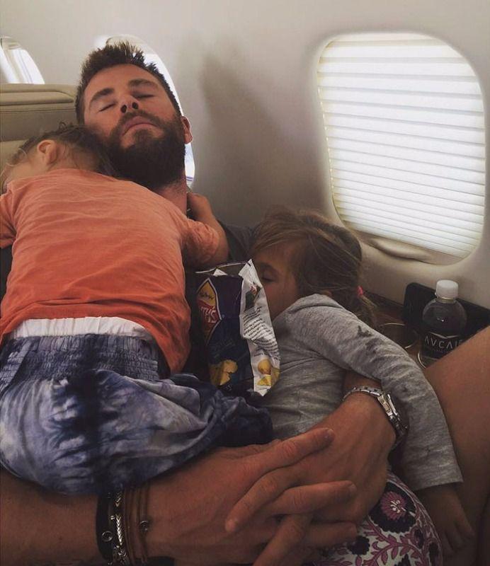 20 důkazů,že je Chris Hemsworth nejlepším tátou na světě
