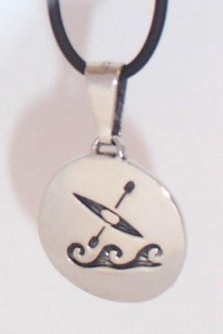 kayak necklace