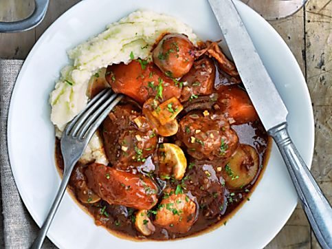 Slimming World's slow cooked beef Bourguignon