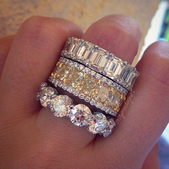 Anniversary Rings and Eternity Bands