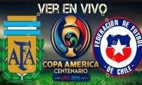 Argentina vs. Chile EN VIVO canal ONLINE por Copa América.