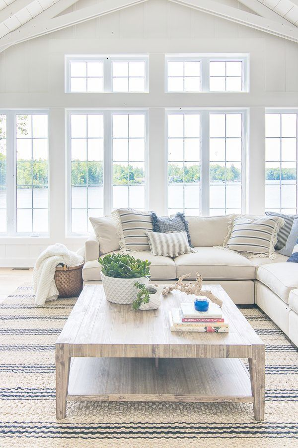 45 Cool And Clean Coastal Living Room Decorating Ideas Decor Tips 2019 Farm House Living Room White Living Room Decor Blue And White Living Room