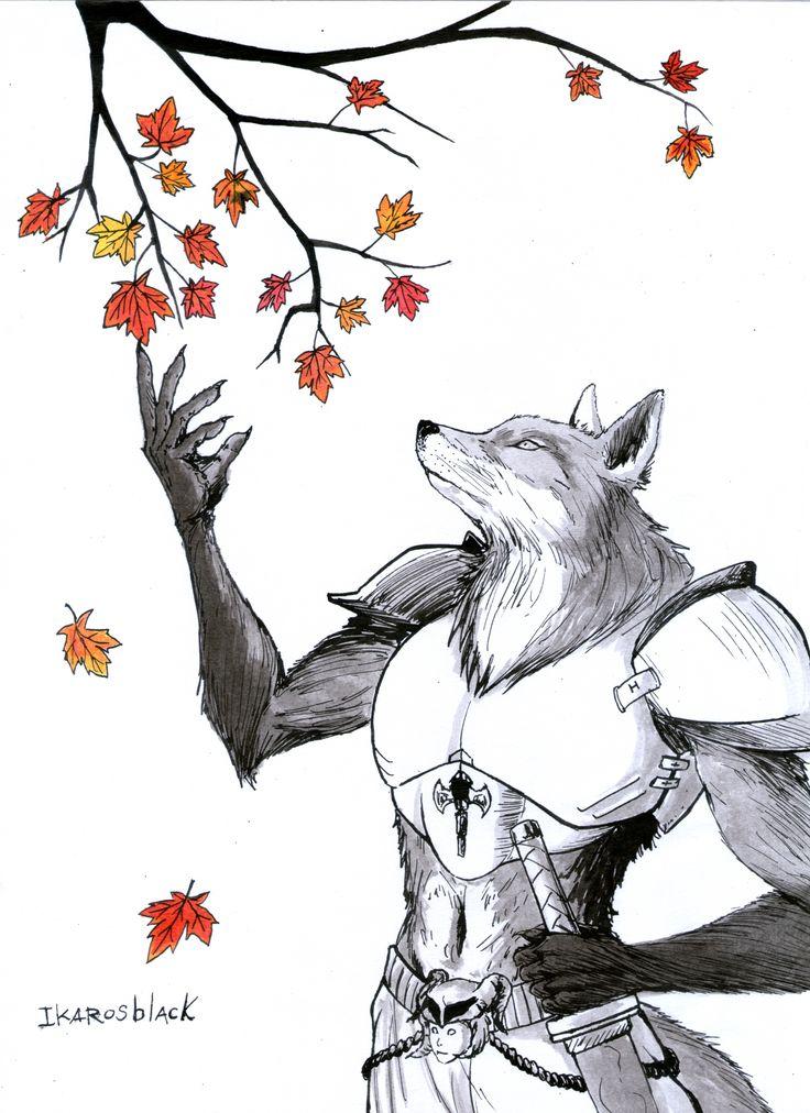 "hermosas hojas de ""otoño"" #inktober #inktoberday28 #inktober2017 #Fox #Fall #drawing #art #tradicionalart #dibujo #ink #warrior #fantasy 🍁"