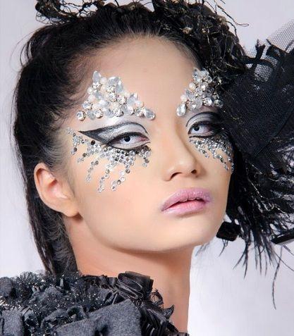 maquillaje fantasia para carnaval