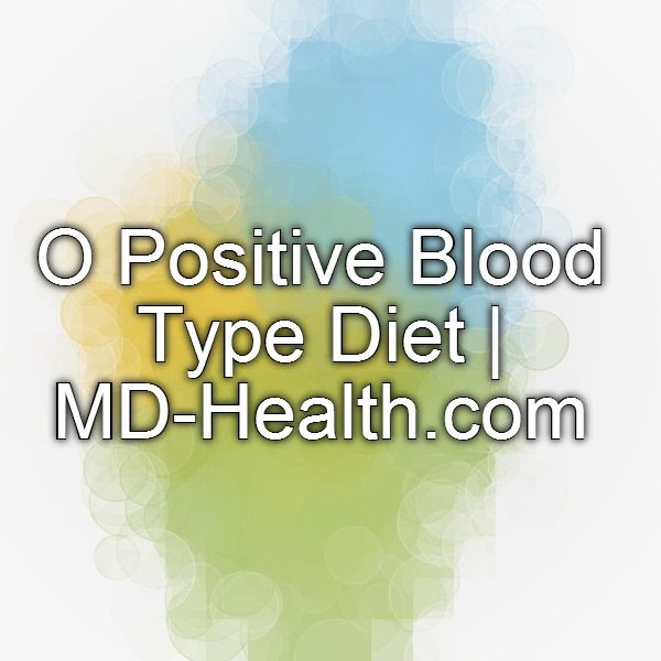 o positive blood type diet pdf