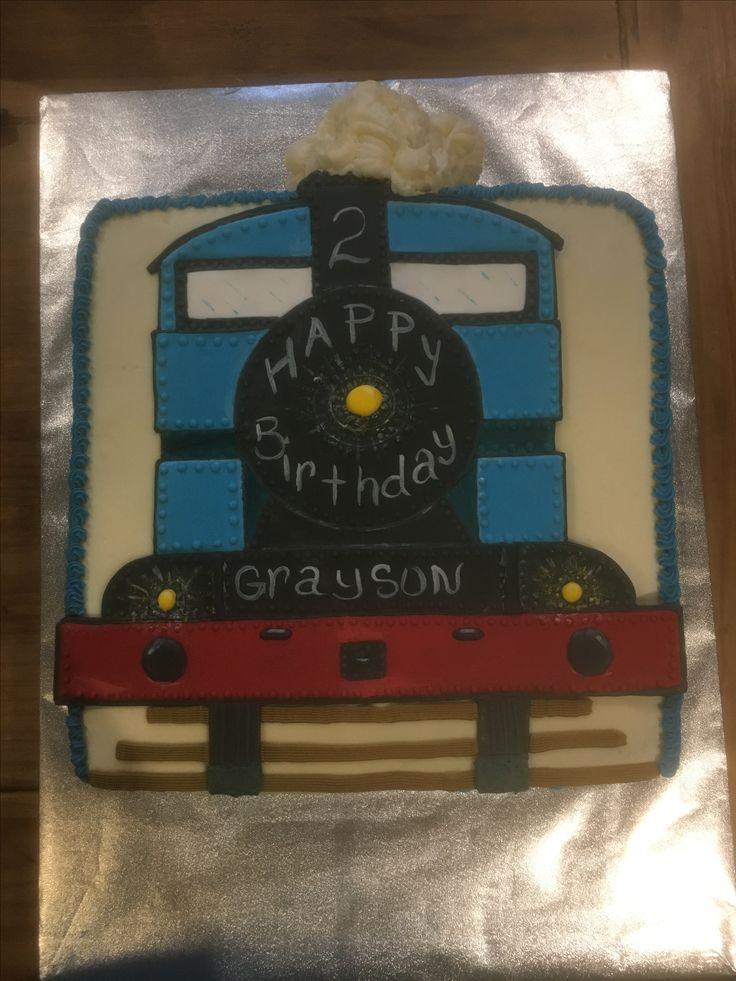 Train cake by Natalie