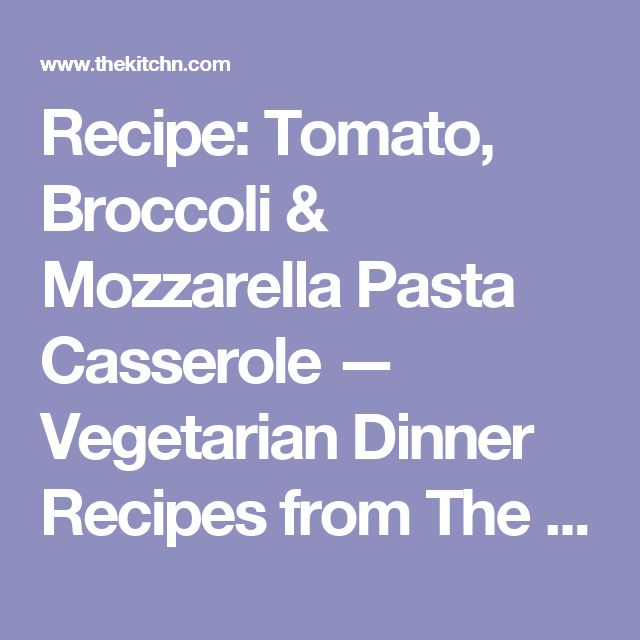... Pasta Bake on Pinterest | Chicken Broccoli Pasta Bake, Broccoli Pasta