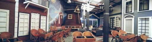 #panorama #capture #oost #koffie #en #thee #surabaya #indonesia #holland #interior #cafe #coffeeshop #and #teahouse #outdoor
