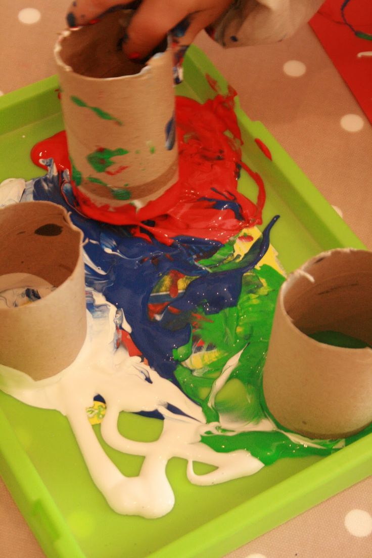 30 Days to Hands on Play! Printing with Objects - The Imagination Tree
