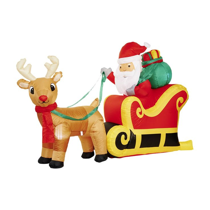 20 best wilko christmas lights images on pinterest outdoor wilko light up inflatable santa sleigh outdoor christmaschristmas aloadofball Image collections