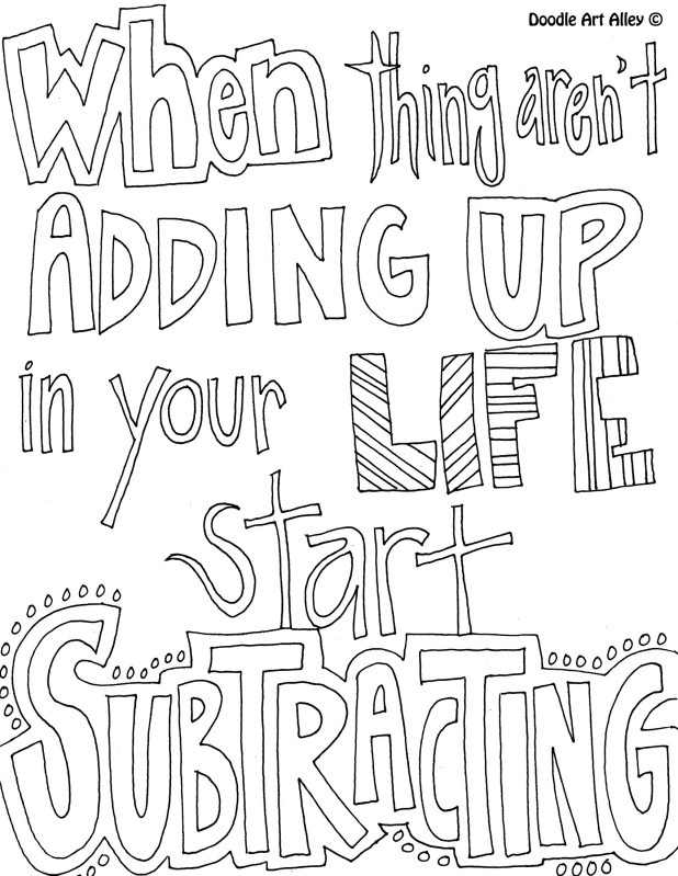 132 Best Colouring Pages Quotes Images On Pinterest